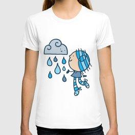 Rain Cloud Girl T-shirt