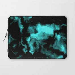 Teal and Black Laptop Sleeve