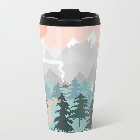 River Forest Metal Travel Mug