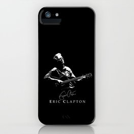 2 Eric Clapton - rock-blues-music -  Strato iPhone Case