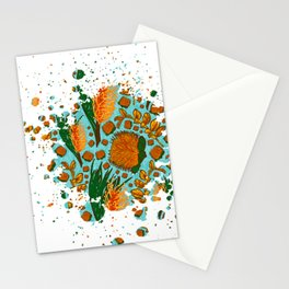 Australian Native Floral Graphic Print Stationery Cards