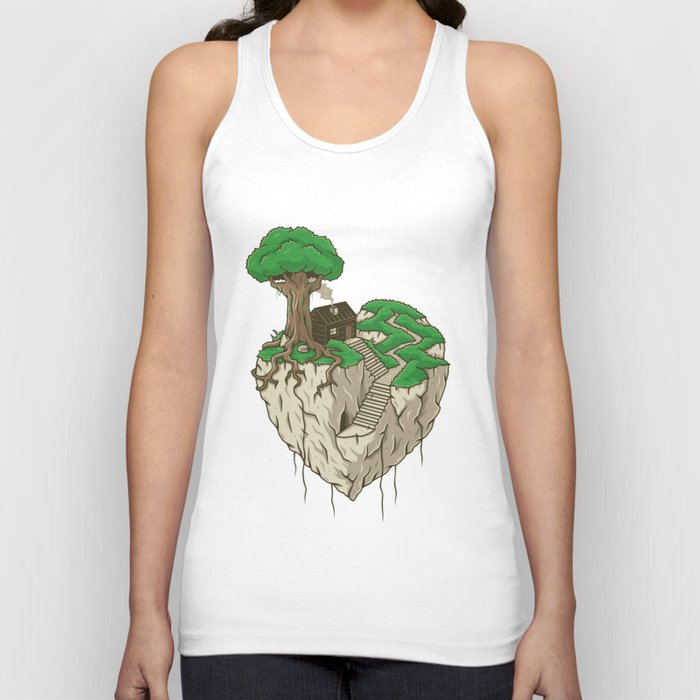Lonely heart Unisex Tank Top