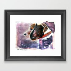 The Beaglenut Framed Art Print