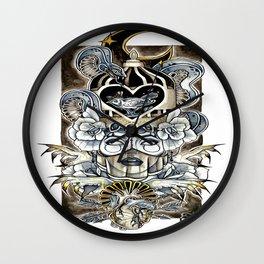 Queen Of Wishful Thinking Wall Clock
