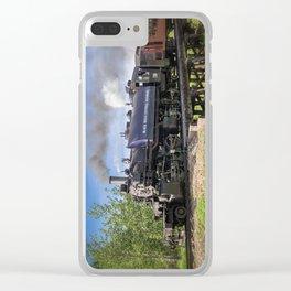 Full Steam Ahead Clear iPhone Case