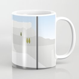 A Day at the Acropolis Museum of Athens Greece Coffee Mug