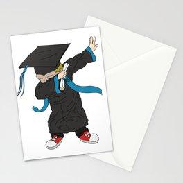 Graduation - Cool Graduation Dab Dabbing Senior Stationery Cards