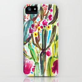 Café Cactus iPhone Case