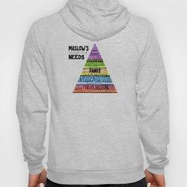 Maslow's Hierarchy of Needs II Hoody