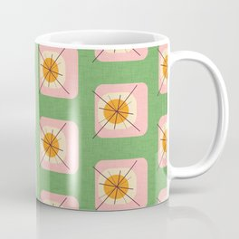 Flower Eggs Green-Pink Coffee Mug
