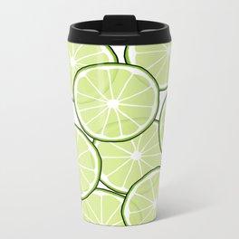 Lime Metal Travel Mug