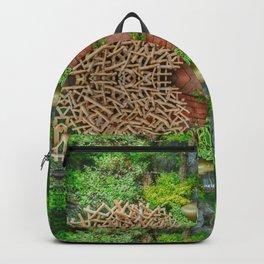 Happy Awesome Pixel Mandala #7 Backpack