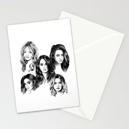 Pretty Little Liars Stationery Cards