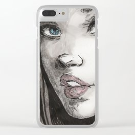 Kendra Clear iPhone Case