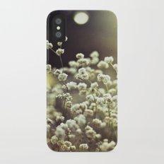 Baby's Breath 3 iPhone X Slim Case