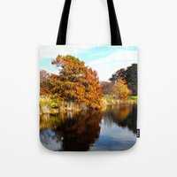 arnold Tote Bags featuring Arnold Arboretum by Christopher Richards