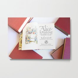 Alice in Wonderland 3 Metal Print