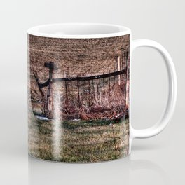 Autumn - Tractor in Ohio Coffee Mug