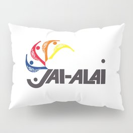 Jai-Alai Logo Color Pillow Sham