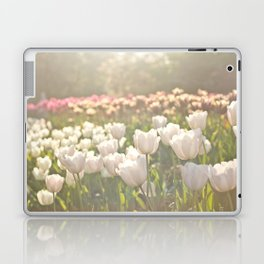 Tulips sunbathed Laptop & iPad Skin