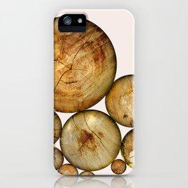 Wood Wood 1 iPhone Case