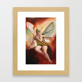 Ms. Bea Framed Art Print