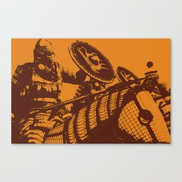 Byzantine Army - Cataphract Canvas Print