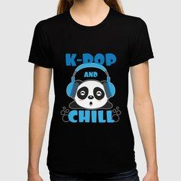 Panda Lover - K-Pop And Chill T-shirt