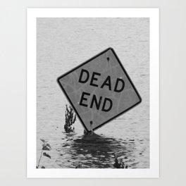 dead end I Art Print