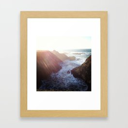 Point Cabrillo Headlands - Northern California Coast Framed Art Print