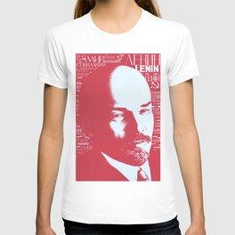 Russia, URSS Vintage Poster, Lenin T-shirt