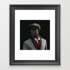 Aloe Blacc Framed Art Print