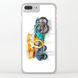 Oldsmobile Clear iPhone Case