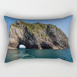 Hole in the Rock New Zealand Rectangular Pillow