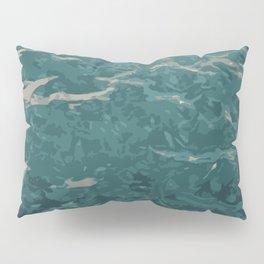 Holding Back Pillow Sham