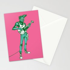 Werewolf Guitarist Stationery Cards