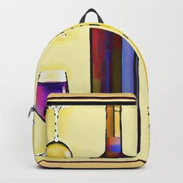 Let's Have Some Wine Backpack