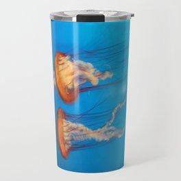 Colorful jellyfishes Travel Mug