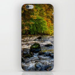Autumn Rapids iPhone Skin