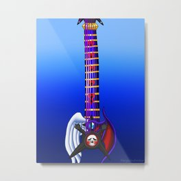 Fusion Keyblade Guitar #171 - Skull Noise & Way to the Dawn Metal Print