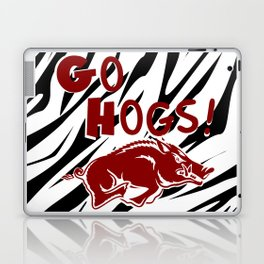 Zebra Hogs Laptop & iPad Skin