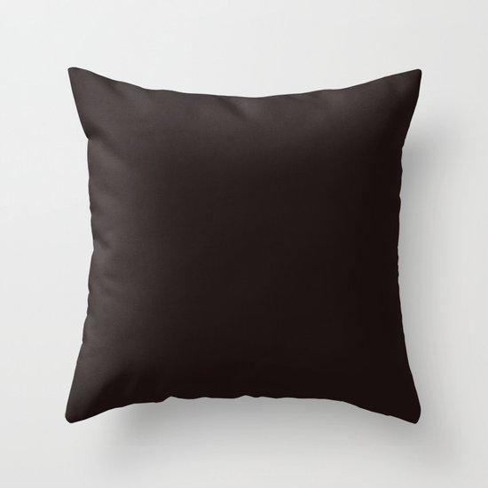 Licorice Throw Pillow