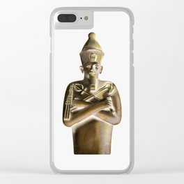 Egyptian Clear iPhone Case