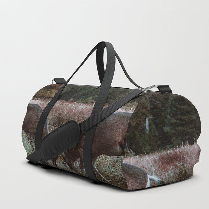 Yosemite Bucks Locking Horns Duffle Bag