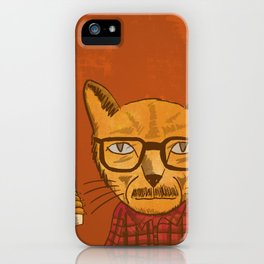 Working with designers is like herding cats iPhone Case