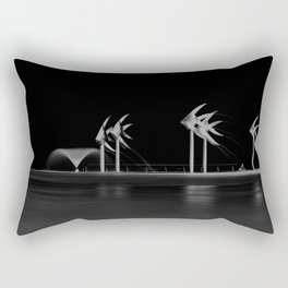 Cairns Esplanade Swimming Lagoon Rectangular Pillow