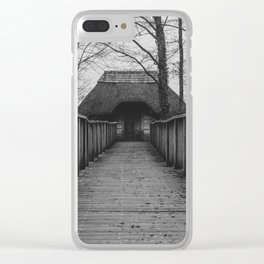 witch's cottage... Clear iPhone Case