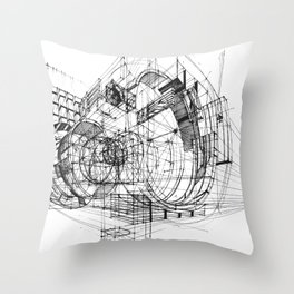 Architecture Fantasy 00347 Throw Pillow