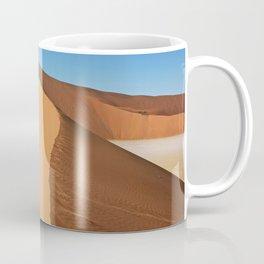On the dunes of the Namib, Namibia Coffee Mug