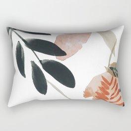 Pear Peach Orange Tree Rectangular Pillow